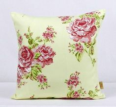 This is for one 16 inch x 16 inch Chintz English Rose double sided cushion cover. This cushion cover comes in a Chintz English Rose fabric on both sides of the cushion cover. With an invisible zip which is at the bottom of the cushion cover, This give . Cushion Pads, Cushion Covers, Throw Pillow Covers, Floral Pillows, Decorative Throw Pillows, China Patterns, Flower Patterns, Bee Design, Design Shop