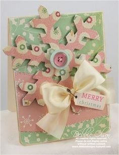 Jolly by Golly Snowflake Card
