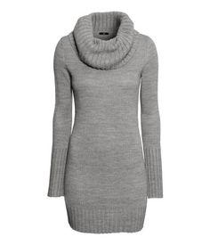 Gray Cowl-neck Sweater | H&M US