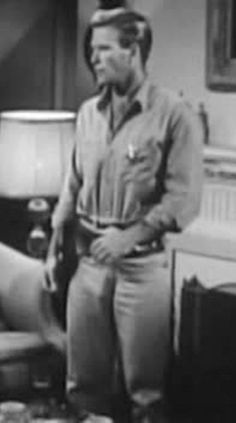 """Sex-on-a-stick KEN CLARK!  Good GOD, that man was hot!  6'4"""", light blond hair, furrier than a grizzly bear.  And in most of his films, the producers/costumers chose to accentuate one of his most prominent features...by outfitting him in tight-fitting, light-colored trousers. Especially in his most famous film/role, """"Stewpot"""" in """"South Pacific"""""""