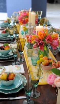 great balance of color alfresco