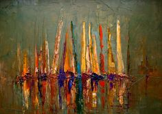 fine art | Tags: boats paintings , sea paintings , abstract paintings , odzie ...