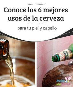 Conoce los 6 mejores usos de la cerveza para tu piel y cabello  La cerveza es una de las bebidas alcohólicas más antiguas y consumidas de todo el mundo. Por su alto contenido nutricional, su ingesta de forma moderada tiene importantes beneficios para el cuerpo y la salud.