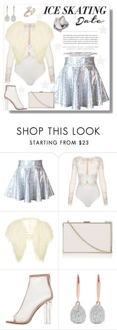 """""""Take me for ice skate"""" by krista-zou on Polyvore featuring Kerr®, La Perla, Topshop, Anya Hindmarch, Monica Vinader and Saks Fifth Avenue"""