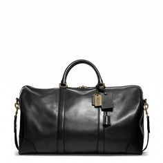 Coach - BLEECKER CABIN BAG IN LEATHER (Black) -  $898 / (also available in - Fawn)