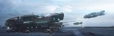Edge: Ark Ship, Simranjeet Singh on ArtStation at https://www.artstation.com/artwork/APJoq