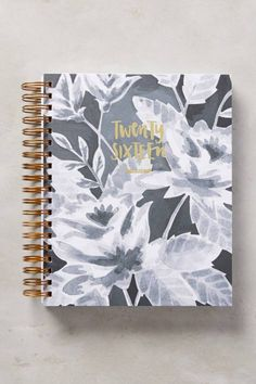 Get prepared for the new year with 2020 planners and calendars. Shop cute 2019 planners and week by week agendas in florals, prints, and more. Stitch Book, Bullet Journal, Monthly Planner, 2016 Planner, Planner Ideas, Notebook Covers, Decorative Storage, Holiday Gift Guide, Inspirational Gifts