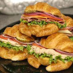 Croissant Sandwich Tray - Yelp