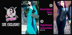 McCalls New Cosplay site: Yaya Han Sewing Patterns, Bodysuit, Jacket, Corset & Skirt