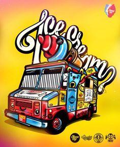 Ilustración de Choco Toy http://www.designals.net/2013/05/chocotoy-artwork/