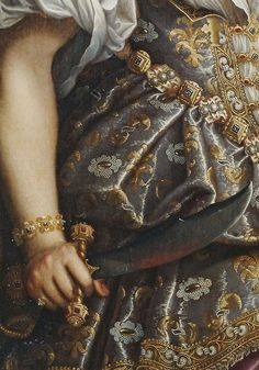 Fede Galizia (1578–1630) Judith with the head of Holoferness,detail.