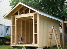 Backyard Storage Shed Ideas build a cedar shed free easy plans anyone can use to build their own shed for under 260 Find This Pin And More On Outdoor Ideas Wood Storage Shed