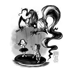 Illustrations for inktober 2019 on Behance