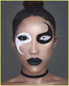 Gesichter Schminken Vorlagen Creepy Halloween Makeup Halloween Makeup Looks Halloween Makeup Easy