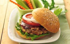 We took your kids' favorite meals and added a batch of wholesome ingredients. Grilled Barbecue Beef And Bean Burgers Burger Recipes, Gourmet Recipes, Beef Recipes, Dinner Recipes, Healthy Recipes, Diabetic Recipes, Healthy Foods, Gourmet Foods, Hamburger Recipes
