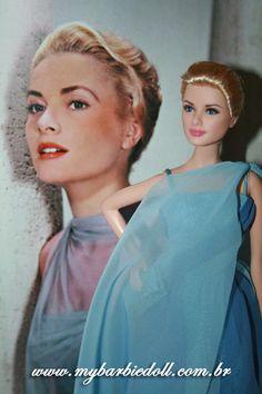 Barbie da Grace Kelly é tão linda e mtooo parecida com ela!!!