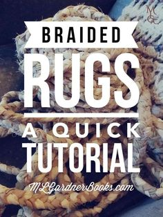 Braided Rugs: A Quick Tutorial || MLGardnerbooks.com || I have always loved the look and feel of braided rugs. It's one of the many items that pulls me to the colonial era. Large, quality (not to mention handmade) rugs are expensive and so like with everything else I want that I can't afford, I simply learned how to make them for myself. Read more: https://www.mlgardnerbooks.com/blog/2017/braided-rugs-a-quick-tutorial