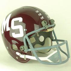 Mississippi State Bulldogs 1973 to 1977 Full Size Throwback Helmet