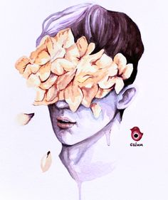 Troye Sivan #WILD - watercolor painting by szluu.tumblr.com