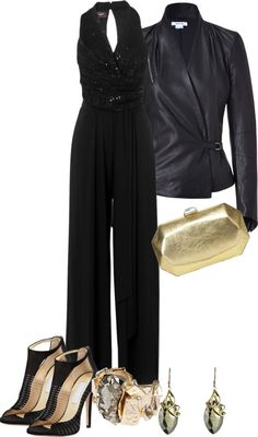 Lusting for a black jumpsuit. Black Jumpsuit Outfit, Sequin Jumpsuit, Party Fashion, 70s Fashion, Studio 54 Outfits, 70s Party Outfit, Studio 54 Fashion, Party Looks, Girls Night Out Outfits