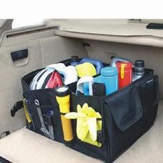 Special Foldable Storage Box Multi-Use Organizer For Auto Car Trunk Chest Toolbox Compartment Plastic