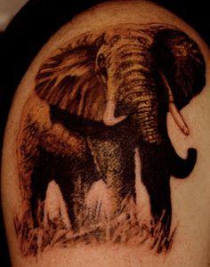 #elephant tattoo
