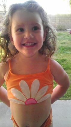 Little Girl Swimsuits, Patrick Swayze, Kids Swimwear, Little Girls, Crop Tops, Button, Sexy, Bikinis, Hair