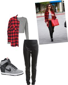 """Steal her style (Selena Gomez)"" by mylittlecurlyboy on Polyvore"