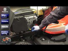 Husqvarna Lawn Tractors: Maintenance