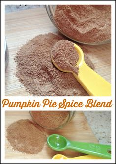 Pumpkin Pie Spice is a blend of cinnamon, ginger, cloves and nutmeg and used in fall desserts, lattes or even on roasted veggies.    http://www.myturnforus.com/2015/09/pumpkin-pie-spice.html