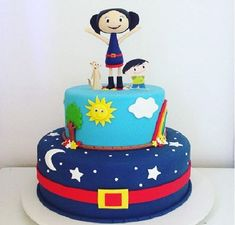 Mini Tortillas, 4 Kids, Cupcakes, Themed Cakes, Amazing Cakes, Alice, Cake Toppers, Birthday Cake, Party