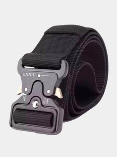 Bove Men Women Canvas Belts Pins Nylon Casual Outdoor Belts Students Military Training Belts Korean Trend Tactics