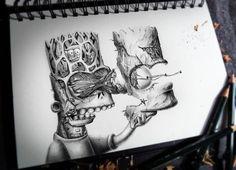 Resultado de imagen para dibujos de personajes graffiti