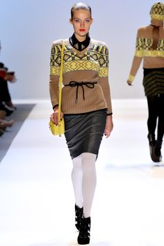 Charlotte Ronson Fall 2012 Ready-to-Wear Collection Photos - Vogue