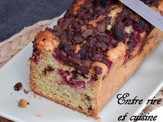 Cake à l'Amande, aux Framboises et au Chocolat