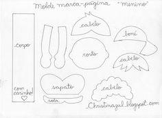 Blog Luana Alves Artesanato em EVA: moldes