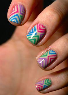 Tribal Nails @Haley Argo I thought you might like these, cuz I