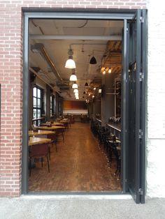 #door #foldingdoor #interior #modern #ideas #architecture #restaurant #newyorkbuilders #activwall