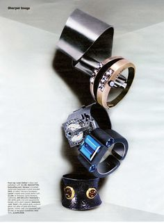 W accessories editorial August 2008