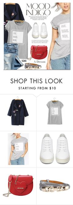"""Yoins"" by mada-malureanu ❤ liked on Polyvore featuring mode, Gap, ANNA, Off-White en Love Moschino"