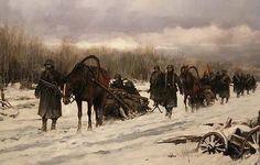 FERRER DALMAU Un grupo de divisionarios avanza por los helados bosques rusos La última batalla de la División Azul, los «andrajosos» e impávidos de Krasni Bor