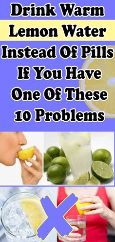 DRINK WARM LEMON WATER INSTEAD OF PILLS IF YOU HAVE ONE OF THESE 10 PROBLEMS After Workout Drink, Workout Drinks, Dieta Fitness, Health Fitness, Herbal Remedies, Health Remedies, Natural Remedies, Healthy Drinks, Healthy Tips