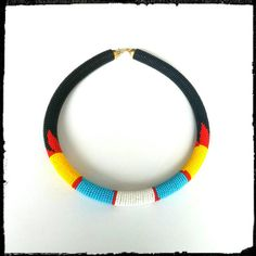 Beaded Zulu necklace