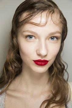 Prada hair and make-up #aw16