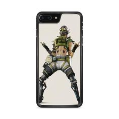 Apex Legends Octane Character iPhone 7 Plus Case   Miloscase Iphone 7 Plus Cases, Perfect Fit, Legends, Prints, Character, Lettering