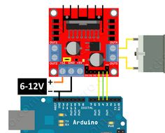 l298n Arduino, Diy Robot, Electronics Projects, Projects To Try, Technology, Digital, Robots, Bridges, Blue Prints