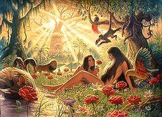 """The Garden of Eden""     The Brothers Hildebrandt"