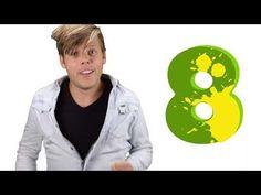 Herken de cijfers tot 20 in het thema dinosaurussen - Bewegend leren met meester Sander - YouTube School, Youtube, Youtubers, Youtube Movies