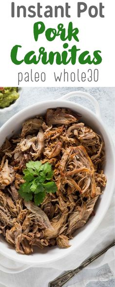 For tamales Try this Pressure Cooker Pulled Pork Carnitas recipe in your Instant Pot in a fraction of the time it takes in the oven! Pork Carnitas Recipe, Pork Carnitas Pressure Cooker Recipe, Easy Pressure Cooker Recipes, Instant Pot Pressure Cooker, Slow Cooker, Pressure Cooking, Instant Cooker, Easy Whole 30 Recipes, Gluten Free Recipes