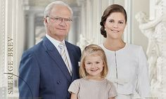 Princess Estelle of Sweden features on new stamp